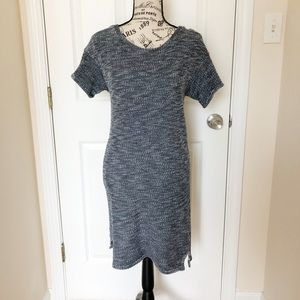 Emerson Fry Casual Blue/White Dress